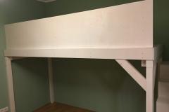 Kinderhochbett mit Treppenregal