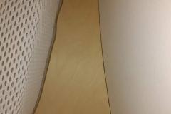 Hochbett runde Wandnische mit einfachem Geländer