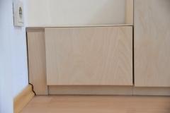 Kinderhochbett mit Treppenschrank
